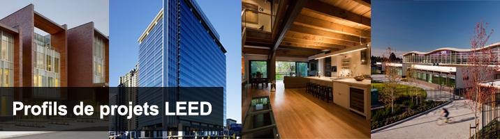 Regroupe plus de 4000 projets LEED