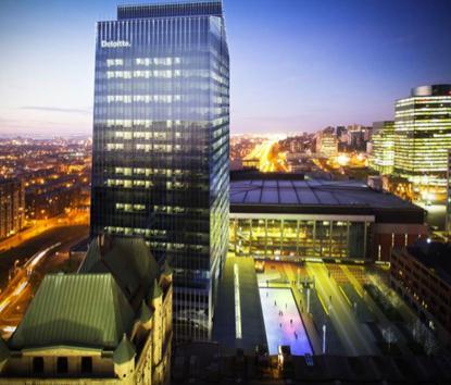 Tour Deloitte, difice  bureaux de 26 tages  Montral