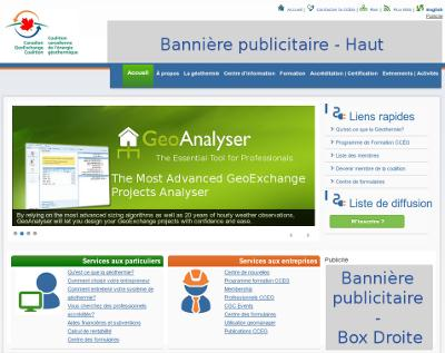 GeoAnalyser.com : navigation rapide et convivial