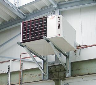 Solution de chauffage, de protection contre le gel et de ventilation
