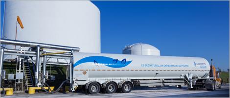 La cration de la filiale Gaz Mtro GNL constitue une importante avance pour le dploiement du Plan Nord. (Photo : Investissement Qubec)