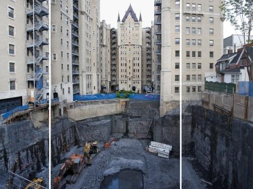 Les dessous des chantiers de construction (photo Linda-Marlena)