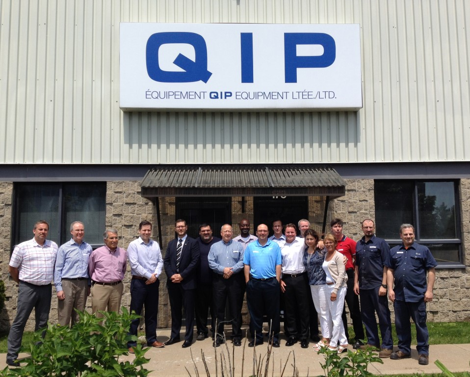 L'quipe de Montral de QIP Equipment