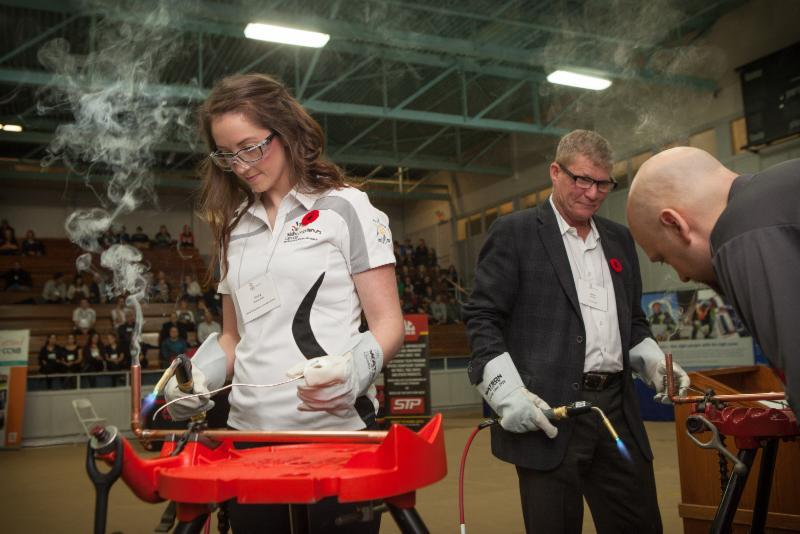 Lancement par SCC de la 11e dition de l'vnement au campus du New Brunswick Community College  Moncton en novembre dernier (Photo SCC)
