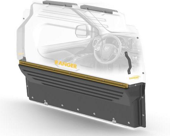 Maximise la visibilit dans la cabine et minimise le bruit dans l'espace utilitaire